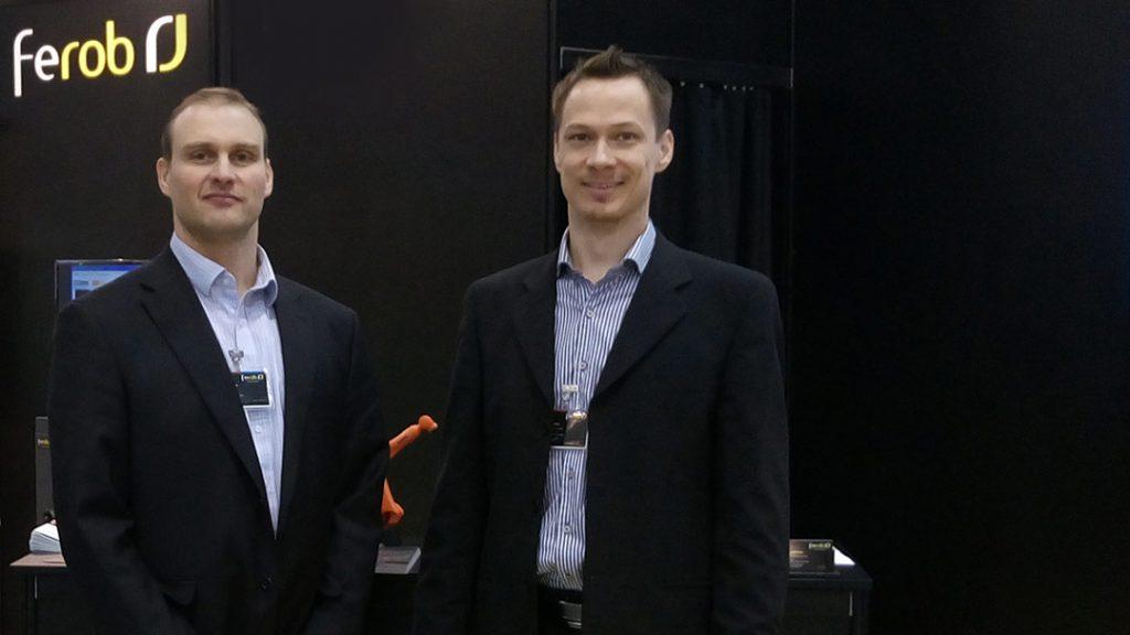 Ferob Oy:n Juha Karttunen ja Niko Moilanen